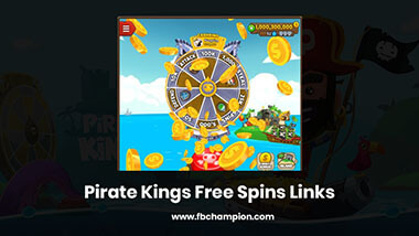 Pirate Kings Free Spins Links - Daily Updated Spins