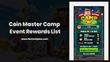 Coin Master Camp Event Rewards List