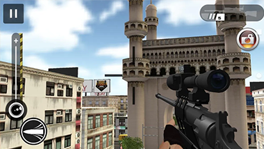 Sniper India is a Latest Game that Lets You Fire enemies in Indian Cities, Now available on Android
